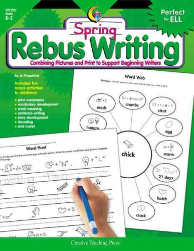 Rebus Writing-Spring, Gr. K-2: Fitzpatrick, Jo