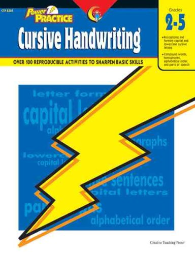 9781591980711: Power Practice-Cursive Handwriting, Gr. 2-5