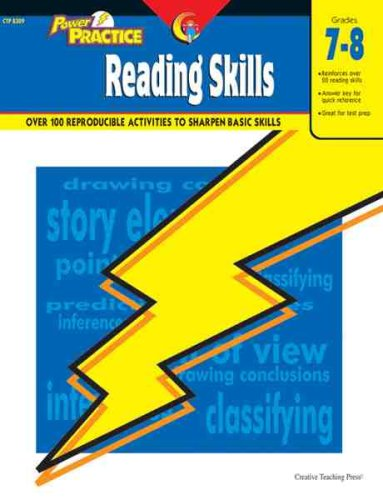9781591980797: Reading Skills, Gr. 7-8 (Power Practice)