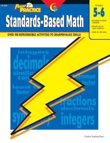 9781591980889: Power Practice: Standards-Based Math, Gr. 5-6