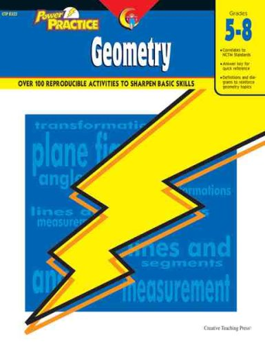 Power Practice Geometry Grade 5-8: Creative Teaching Press,
