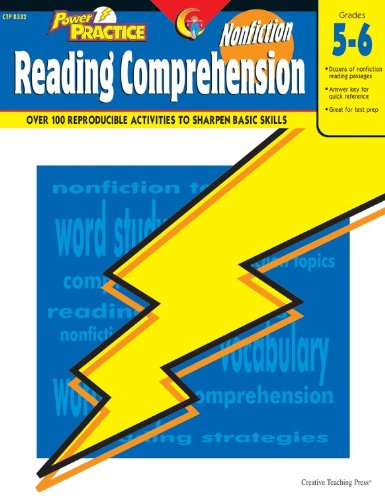 9781591981145: Nonfiction Reading Comprehension, Gr. 5-6 (Power Practice)