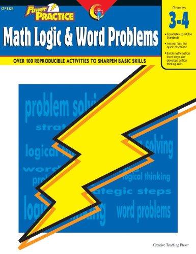 Math Logic & Word Problems, Gr. 3-4: Angela Higgins
