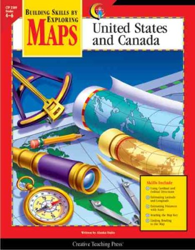 9781591981220: Maps: United States and Canada, Gr. 4-6