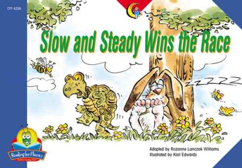 9781591981589: Slow and Steady Wins the Race (Fluency Readers)