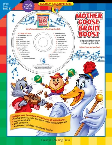9781591982340: Mother Goose Brain Boost: Using Music and Movement to Teach Cognitive Skills (Early Learning)