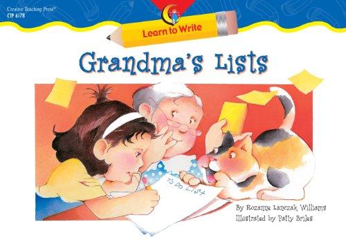 Grandma's Lists: Williams, Rozanne Lanczak