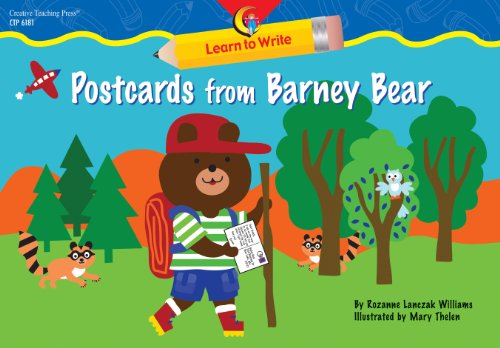 9781591982876: Postcards from Barney Bear Learn to Write Reader
