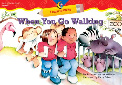 9781591982920: When You Go Walking Learn to Write Reader