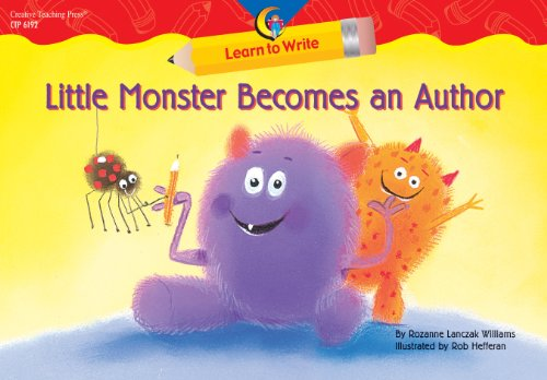 9781591983002: Little Monster Becomes an Author Learn to Write Reader