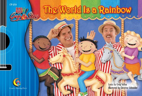 9781591983194: The World is a Rainbow, Sing & Read with Greg & Steve