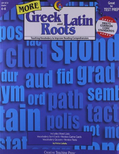9781591983286: More Greek and Latin Roots Gr. 4-8