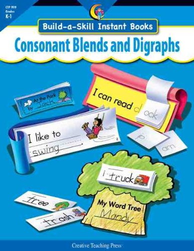 9781591984108: CONSONANT BLENDS & DIGRAPHS, BUILD-A-SKILL INSTANT BOOKS