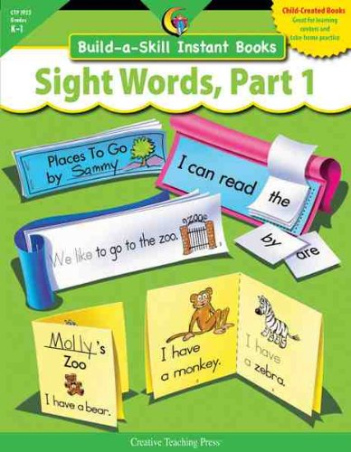 9781591984146: SIGHT WORDS PART 1, BUILD-A-SKILL INSTANT BOOKS