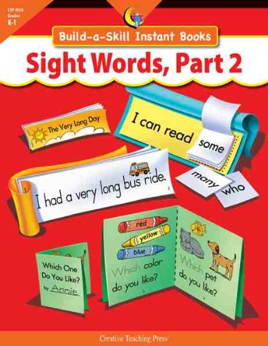 9781591984153: SIGHT WORDS PART 2, BUILD-A-SKILL INSTANT BOOKS
