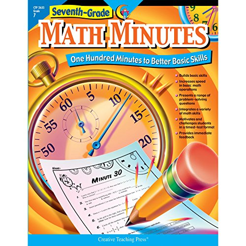 9781591984313: Seventh-Grade Math Minutes: One Hundred Minutes to Better Basic Skills