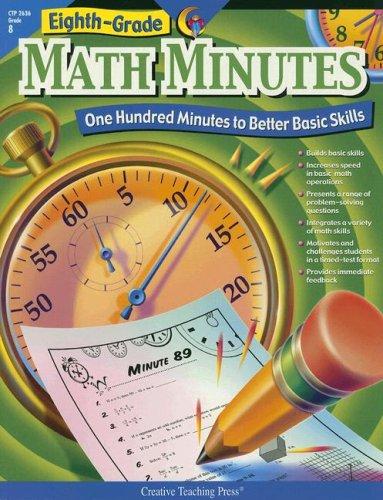 9781591984320: Eighth Grade Math Minutes