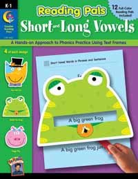 9781591984368: Reading Pals: Short and Long Vowels (Reading Pals K-1)