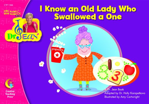 9781591984498: I Know an Old Lady Who Swallowed a One , Sing Along & Read Along with Dr. Jean