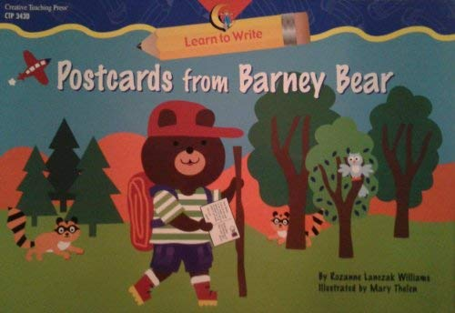Postcards From Barney Bear (Learn to Write Lap Book) (159198632X) by Rozanne Lanczak Williams