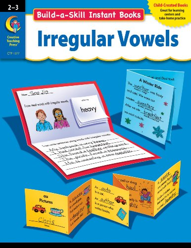 9781591989721: Build-a-Skill Instant Books: Irregular Vowels, Gr. 2-3