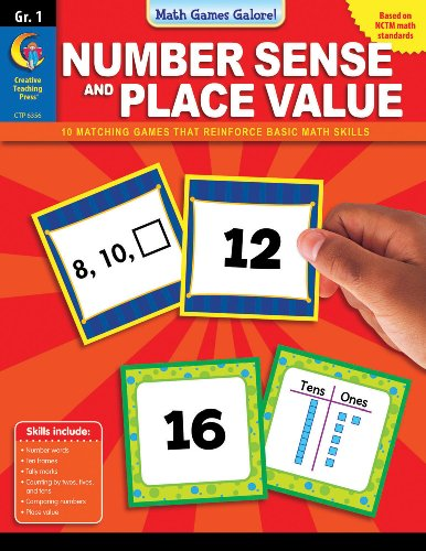 Math Games Galore: Number Sense and Place Value, Gr. 1 (1591989841) by Stephen Davis