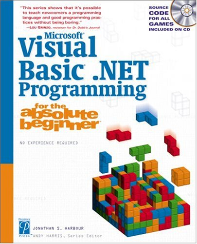 9781592000029: Microsoft Visual Basic .NET Programming for the Absolute Beginner