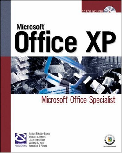 9781592000463: Mous Certification for Microsoft Office Xp: Ms Office ...