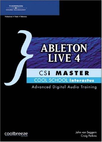 9781592005789: Ableton Live 4 CSi Master