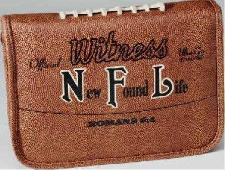 9781592022526: NFL (New Found Life) Bible Cover - Medium