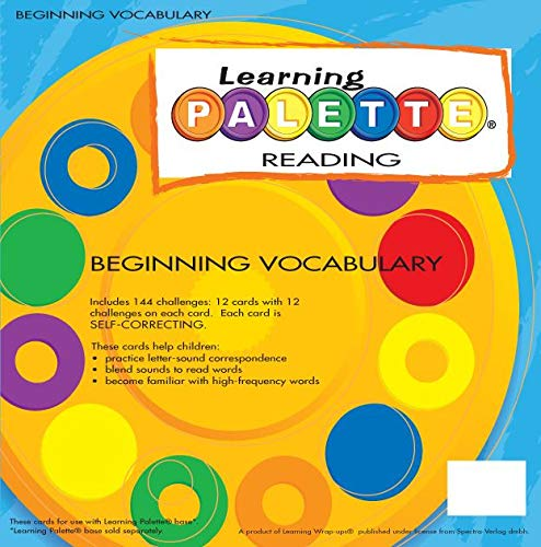 9781592040049: Learning Palette Beginning Vocabulary Reading