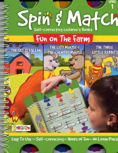Spin & Match Self-Correcting Children's Books; Level: Armstrong, Linda