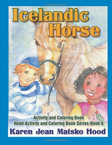 9781592105953: Icelandic Horse: Activity and Coloring Book (English, German and Icelandic Edition)