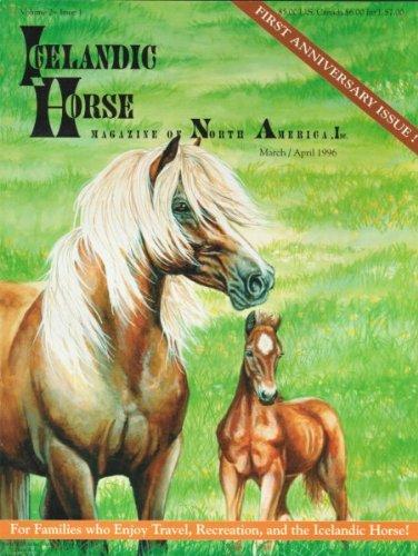 9781592109258: Icelandic Horse Magazine of North America, Inc.Volume 2, Issue 1, March/April 1996