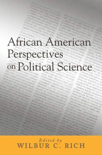 9781592131082: African American Perspectives on Political Science