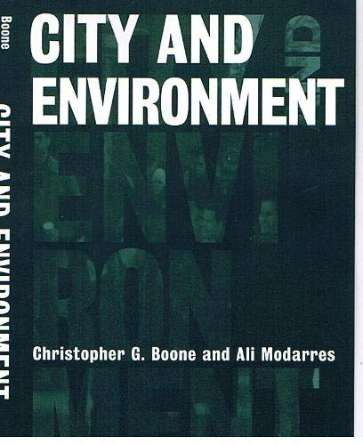 City and Environment: Christopher Boone, Ali Modarres