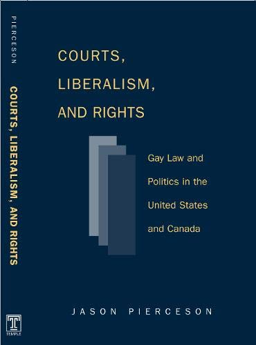 9781592134014: Courts Liberalism And Rights: Gay Law And Politics In The United States and Canada (Queer Politics Queer Theories)
