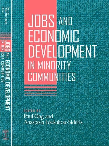 9781592134090: Jobs and Economic Development in Minority Communities