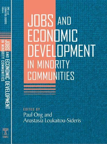 9781592134106: Jobs and Economic Development in Minority Communities