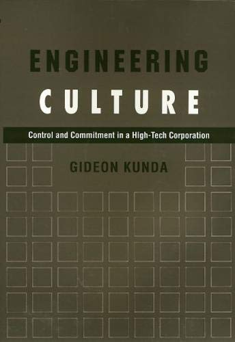 9781592135462: Engineering Culture: Control and Commitment in a High-Tech Corporation
