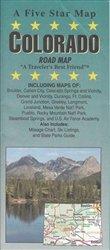 Colorado : road map: Five Star Maps