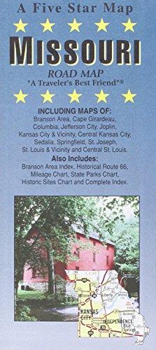 Missouri : road map: Five Star Maps