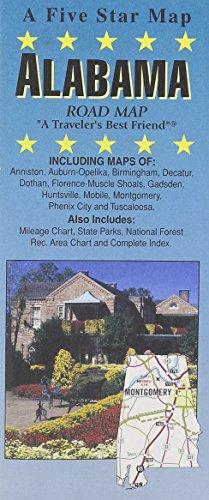 Alabama : road map: Five Star Maps