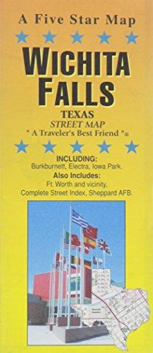 Wichita Falls, TX Street Map: Five Star Maps
