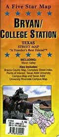 Bryan/College Station, TX: Five Star Maps