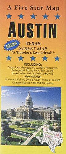 Austin, TX: Five Star Maps