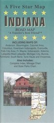 Indiana : road map: Five Star Maps