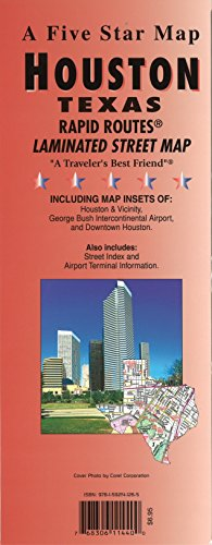 9781592141265: Houston, TX Rapid Routes
