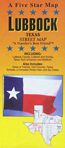 Lubbock, TX: Five Star Maps
