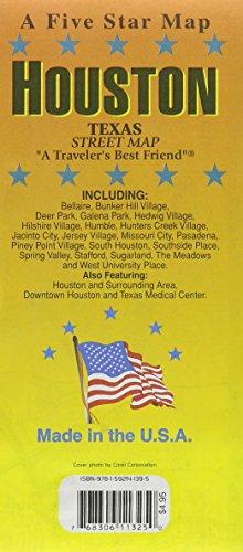 Houston, TX: Five Star Maps